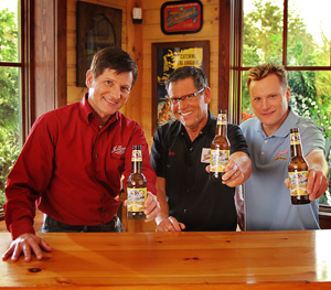 Dick, Jake, and John Leinenkugel