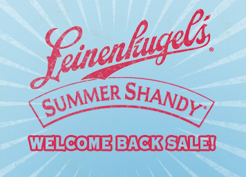 Summer Shandy Welcome Back Sale