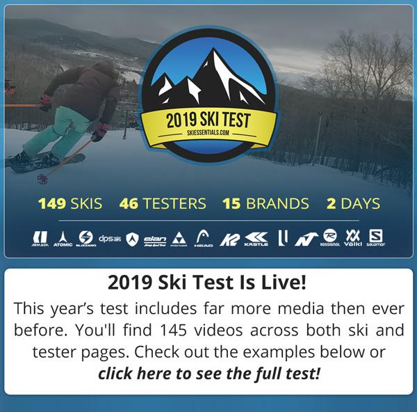 2019 SkiEssentials Ski Test