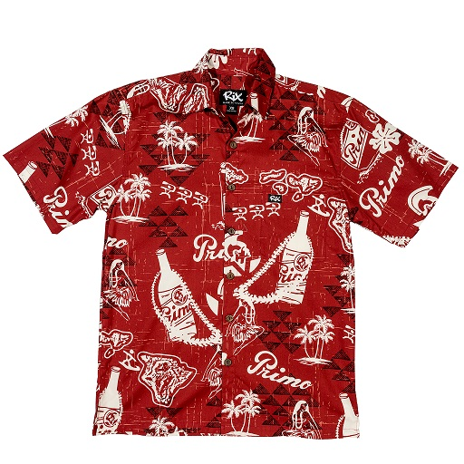6e95bf7e PRIMO THROWBACK Classic Fit Hawaiian Shirt ...